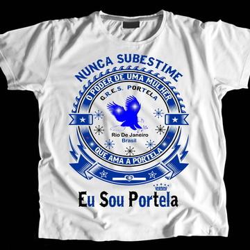 Camiseta Carnaval Eu Sou Portela