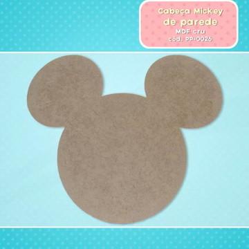 2 Mickey painel mdf cru decoração de festa 60 cm