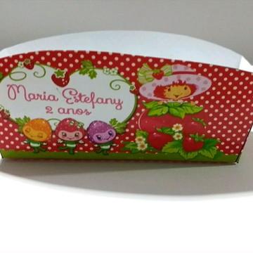 Caixa de hot dog Moranguinho
