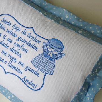Travesseiro de bebê Santo Anjo