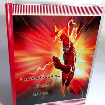 Caderno Personalizado Flash, Carros- Qualquer Tema