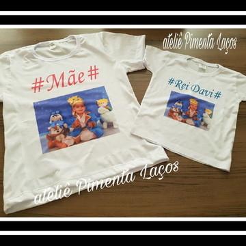 Camisetas Estampadas com Foto tema Princípe