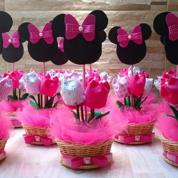Centro de mesa Minnie Pink