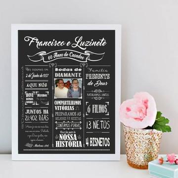 Chalkboard Noivado Casamento Bodas Namoro