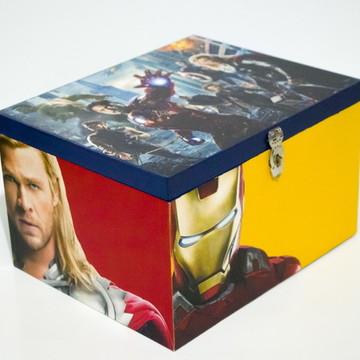 Caixa mdf Os Vingadores Modelo 2