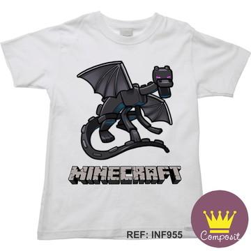 Camiseta Infantil Minicraft Game 05