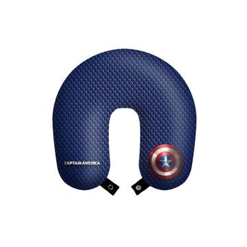 Travesseiro de pescoço almofada viagens Capitão América
