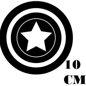 Adesivo Logo Capitão America Frete grátis