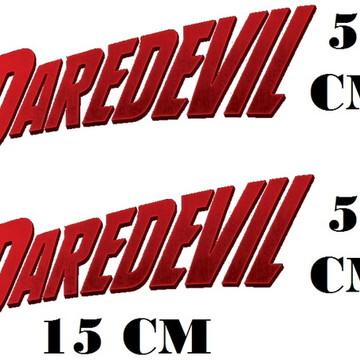 Adesivo Logo Daredevil Demolidor Frete grátis