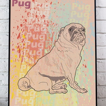 Poster A3 PUG sem moldura)