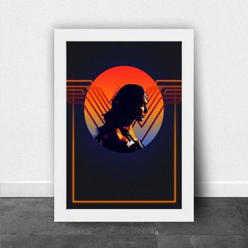 Quadro/Poster Wonder Woman b