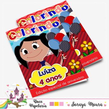 Revista de colorir O Show da Luna