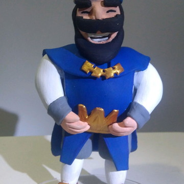 Rei Azul - Clash Royale.