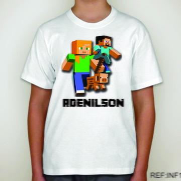 Camiseta Infantil Minicraft Game 19