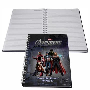 Caderno Personalizado - Vingadores