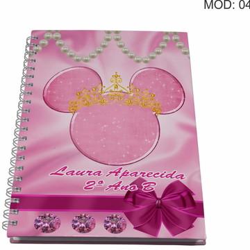 Caderno Personalizado - Minnie
