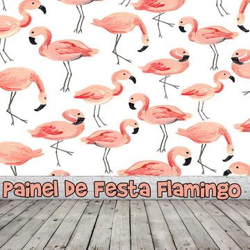 Painel de Festa Flamingo