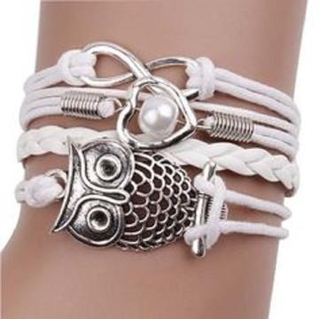 Bracelete PU Moda Feminina