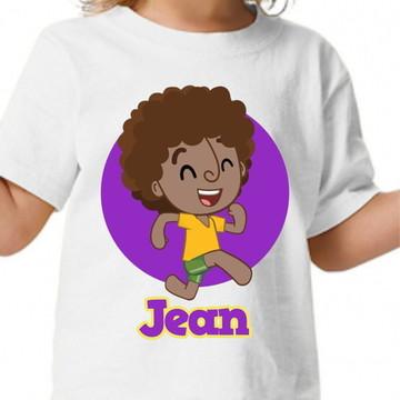 Camisa personalizada - Dan - Mundo Bita