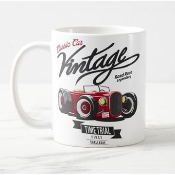 Caneca Vintage Classic Car