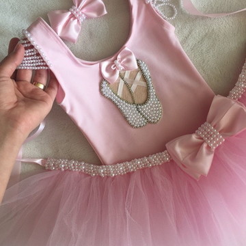 Fantasia de bailarina rosa