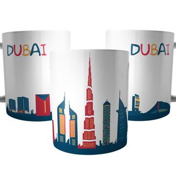 Caneca Dubai Emirados Árabes Unidos - Lembrança de Viagem