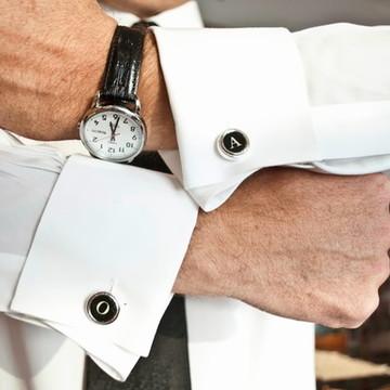 Abotoadura para camisa social personalizada