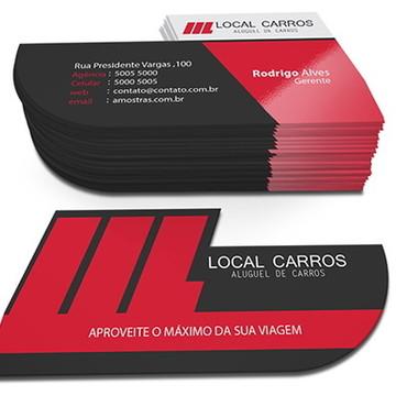 1000 Cartões de Visita Corte Especial - 4x4