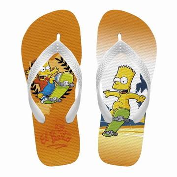 8a6db8ef7 Chinelo Havaianas Personalizados Simpsons Bart | Elo7
