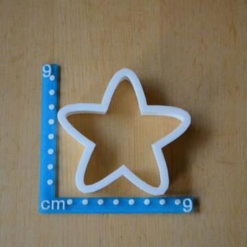 Cortador de Biscoito e pasta Estrela 5 pontas