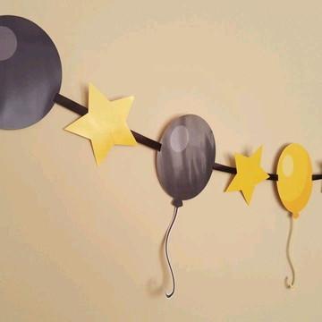 Bandeirola Aniversário Balão
