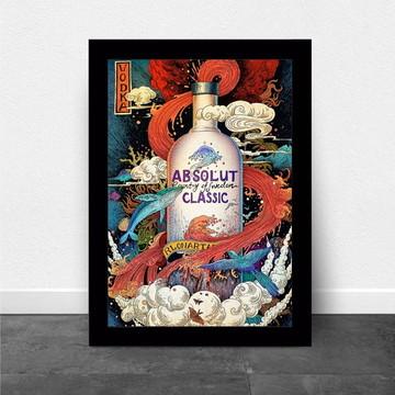Quadro/Poster Vodka Absolut Classic