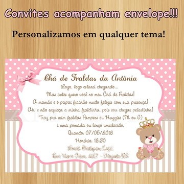 Convites para Aniversario