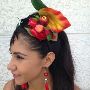 Tiara Carnaval de Carmem Miranda 1