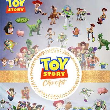 #2108- IMERDÍVEL: Kit Digital Toy Story em PNG