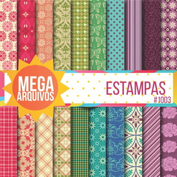 #1003 - Papel digital estampas