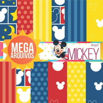 #1007 -Papel digital Mickey