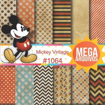 #1064- Papel digital Mickey Vintage