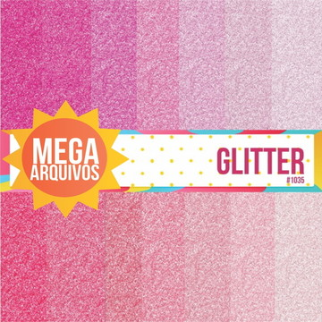 1035- Papel Digital Glitter