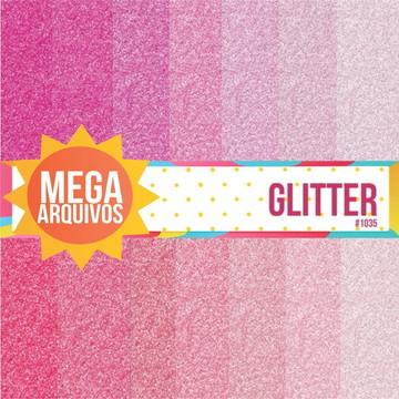 1035- Papel Digital Glitter