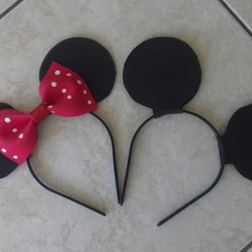 Tiara Orelha da Minnie e Mickey