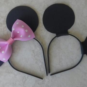 Tiara da Minnie e Mickey