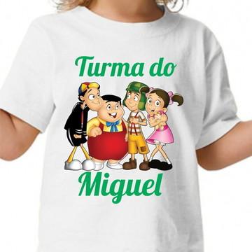 Camisa personalizada - Turma do Chaves