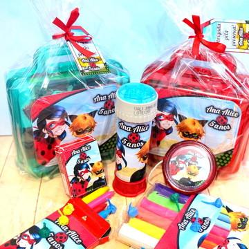 Lembrancinha Ladybug Kit diversão - Brinquedos + maletinha