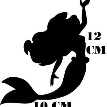 Adesivo Princesa Ariel 02 Disney Frete grátis