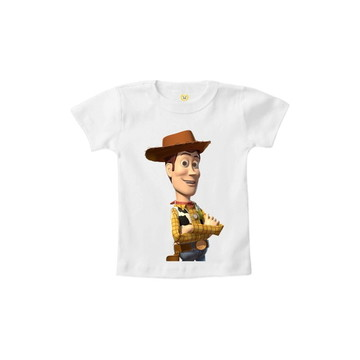e53cdda4f499d Camiseta INFANTIL OU Body WOODY Toy Story