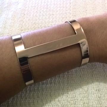 Bracelete Feminino Folheado em Ouro Rosé