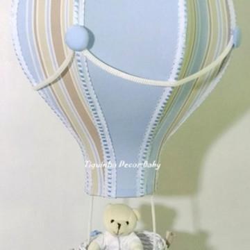 lustre balão infantil personalizado Lucas