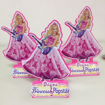Centro de mesa Barbie Pop Star
