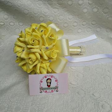 Buquê para pré wedding Amarelo